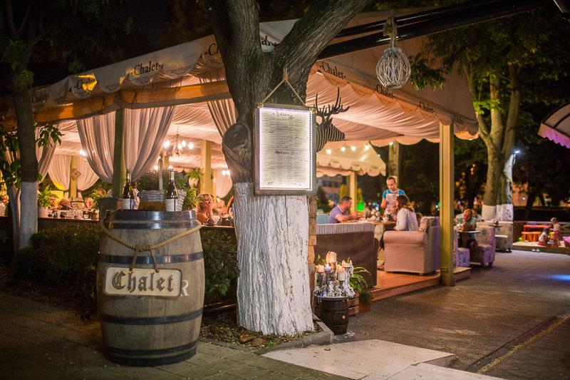 Ресторан бар Шале в Анапе