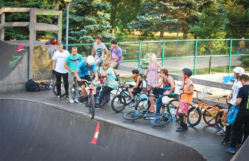 Скейт парк Анапа фото