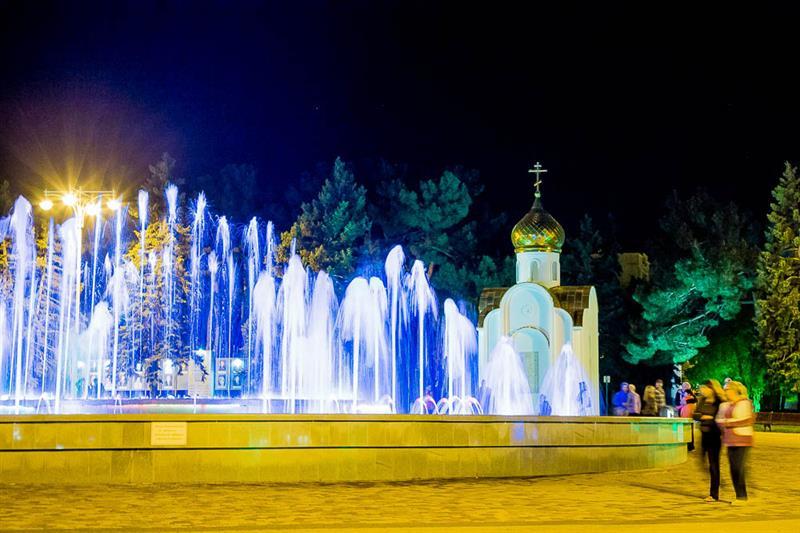 Анапа поющие фонтаны фото