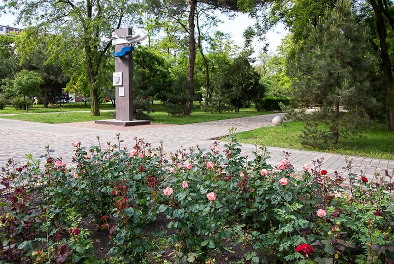 Памятник Корытину фото Анапа