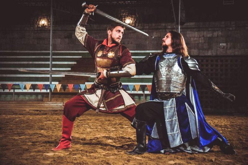 Рыцарские турниры в Анапе