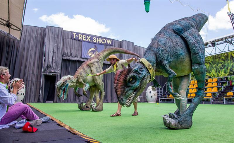 Анапа динозавры