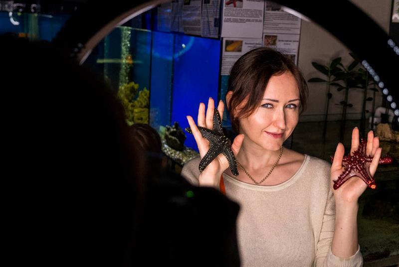 Анапа аквариум риф