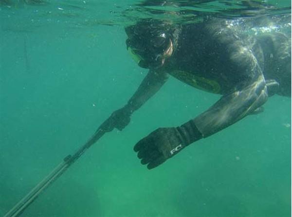Анапа подводная охота.