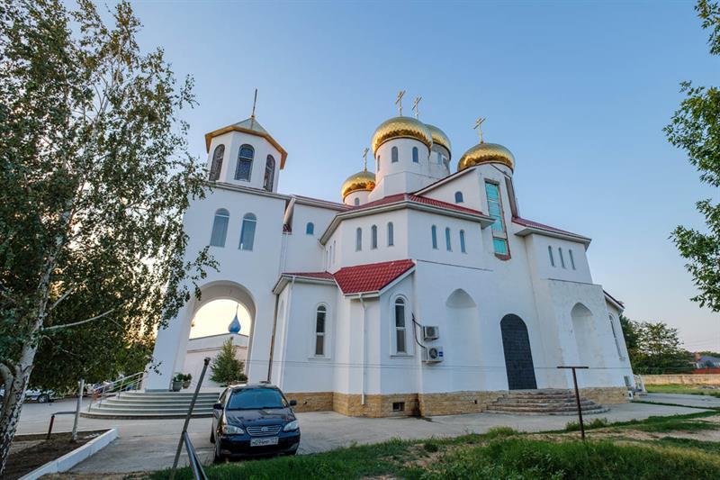 Витязево храм Георгия Победоносца