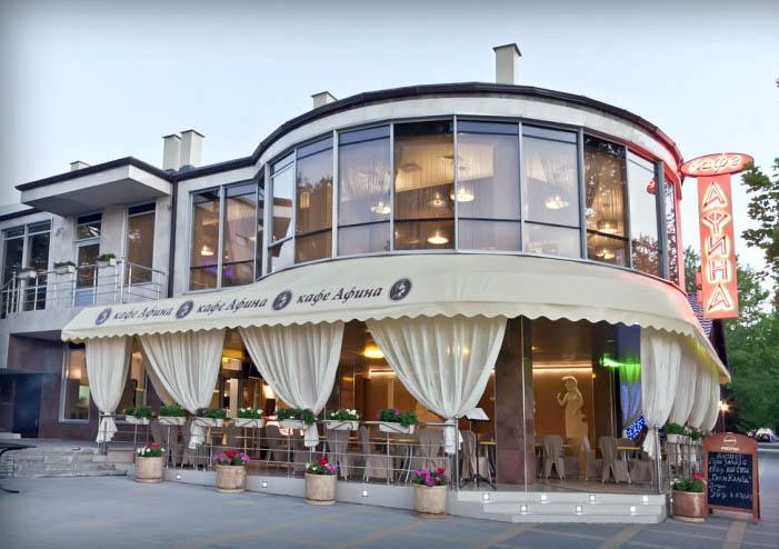 Кафе Афина в Анапе