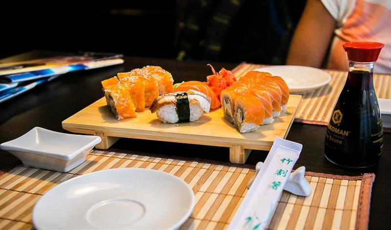 Суши и роллы в Анапе. Японские рестораны