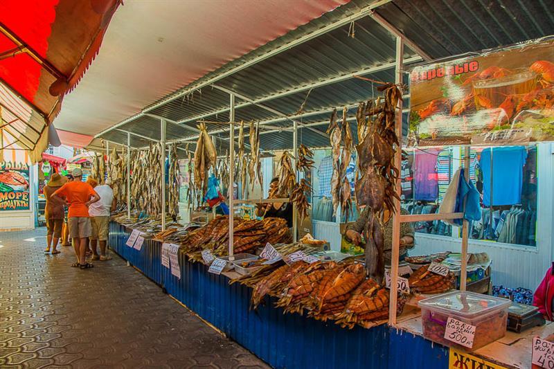 Центральный рынок Анапы