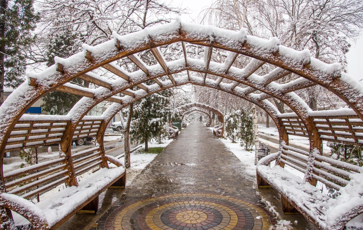 Январь в Анапе