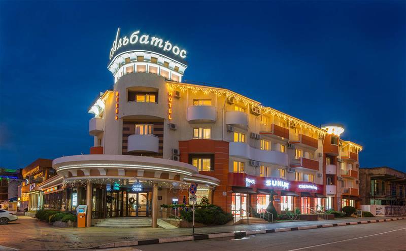Отель «Альбатрос» в Анапе