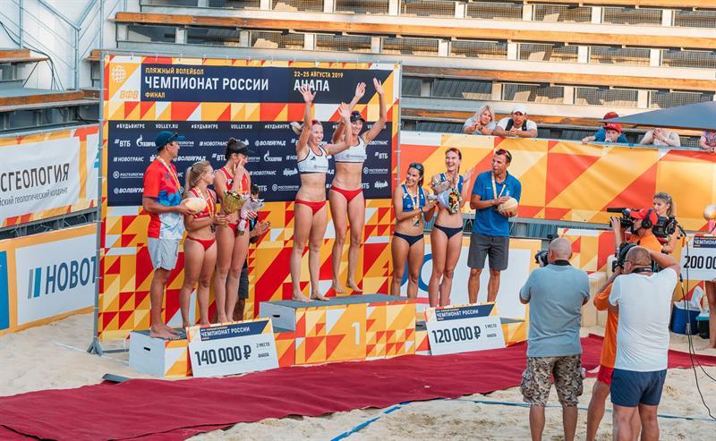 Анапа Чемпионат России по пляжному Волейболу 2019
