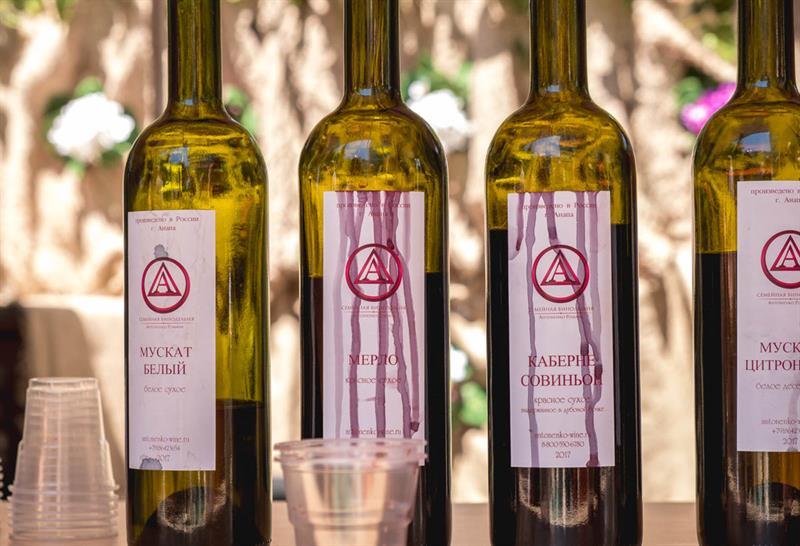 Гаражное виноделие в Анапе