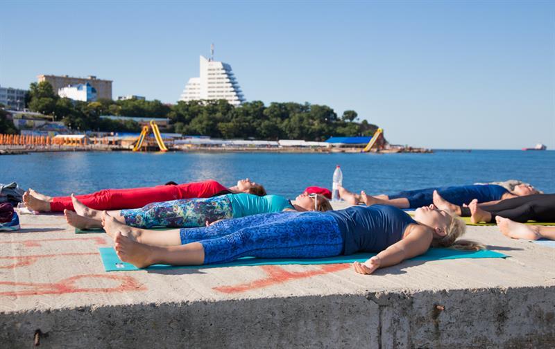 Йога в Анапе на море
