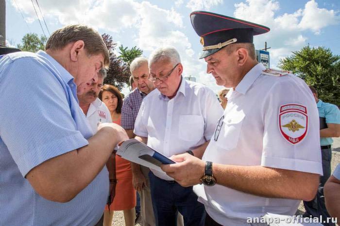 Мэр встречается с городскими службами