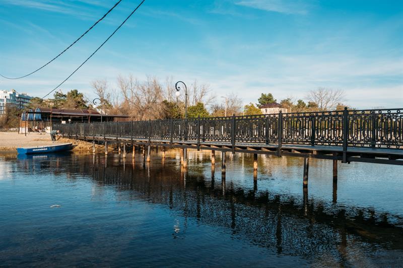 Новый мост через Анапку