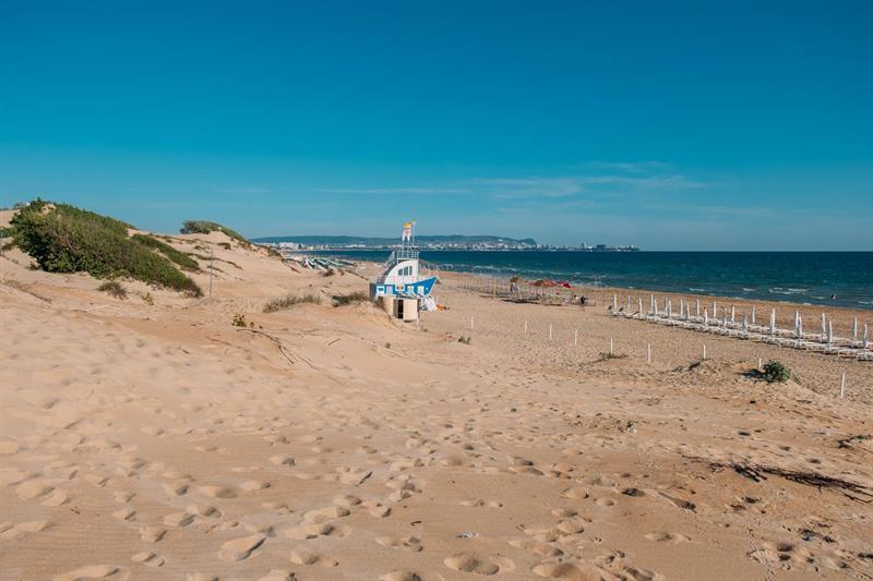 Пляж на Пионерском проспекте