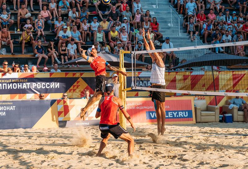 Анапа чемпионат России 2019 пляжный волейбол