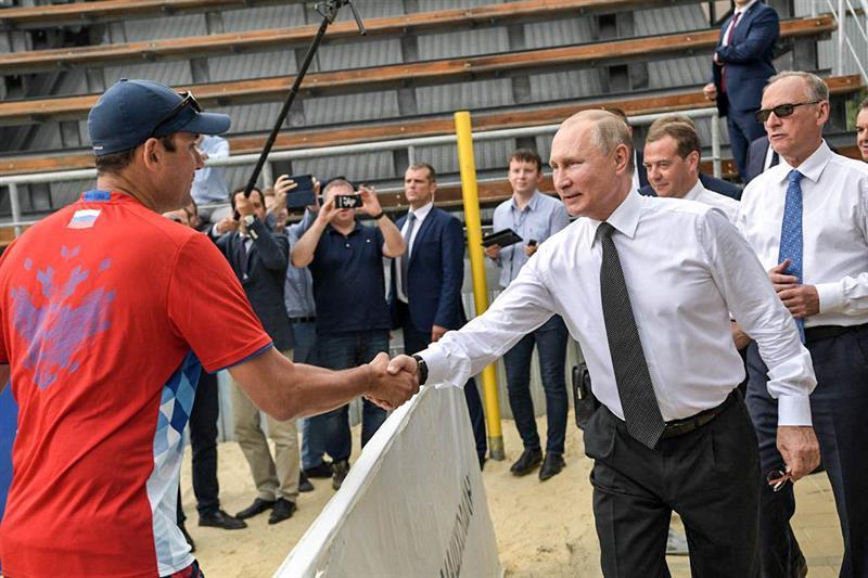 Путин в Витязево