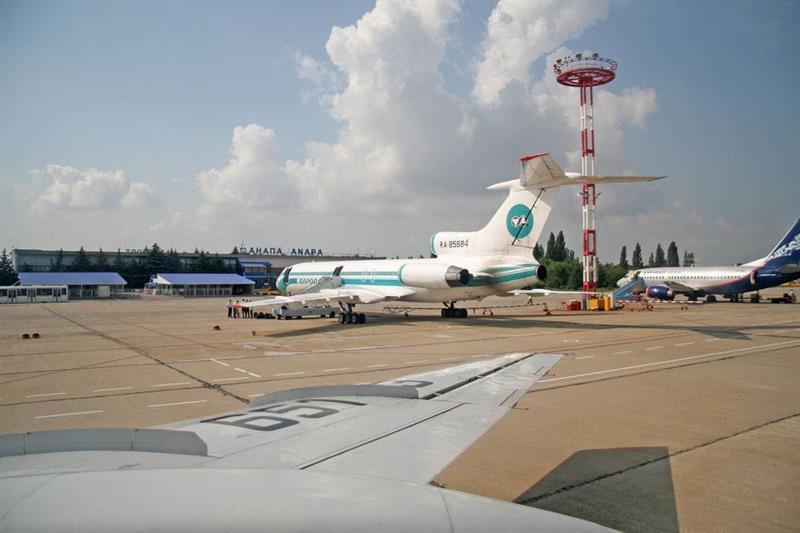 Аэропорт Анапы фото
