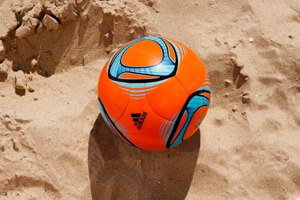 Пляжный футбол в Анапе.