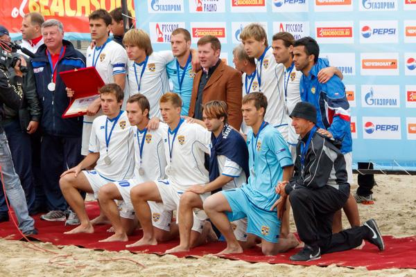 Пляжный футбол в Анапе