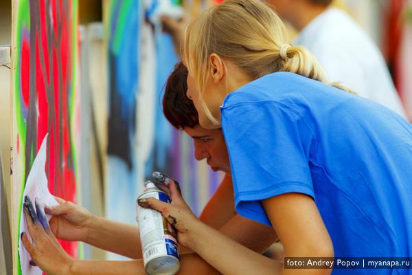 Анапа графити
