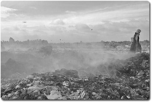 в Анапе нет мусора