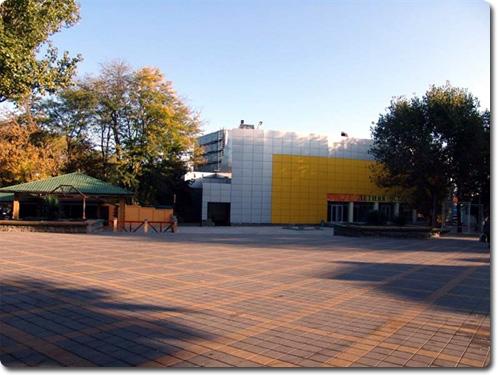 Анапа концертная площадка