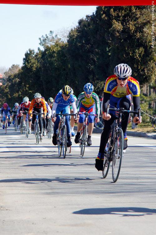 Анапа принимает вело соревнования
