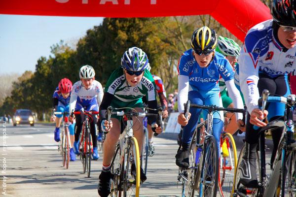Анапа любит вело гонки